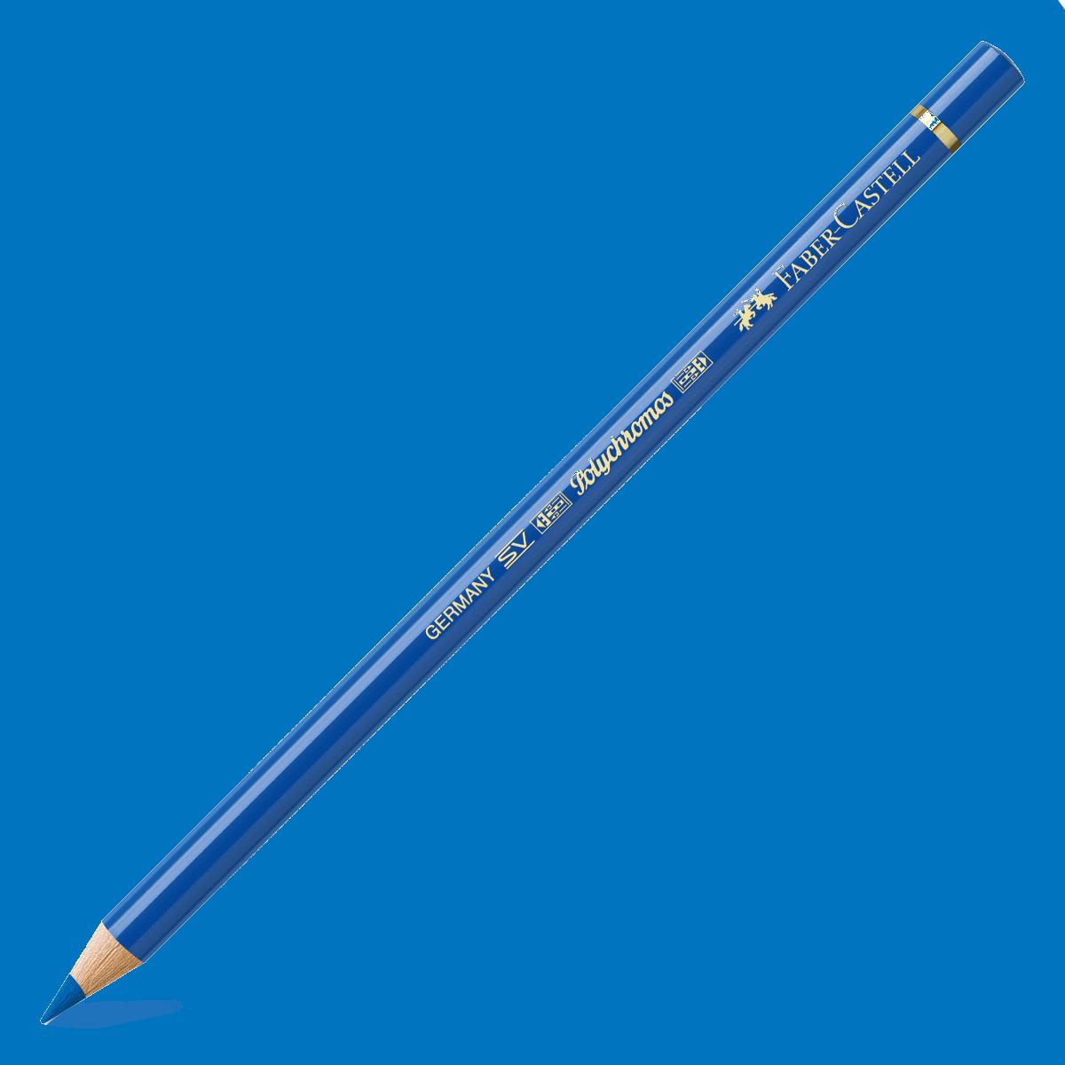 Kredka Polychromos 144 błękit kobaltowy zielonkawy, Faber-Castell