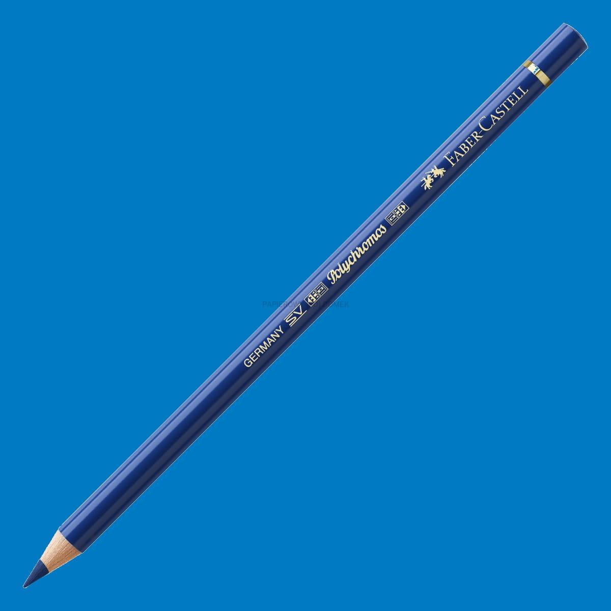 Kredka Polychromos 151 błękit ftalocyjaninowy, Faber-Castell