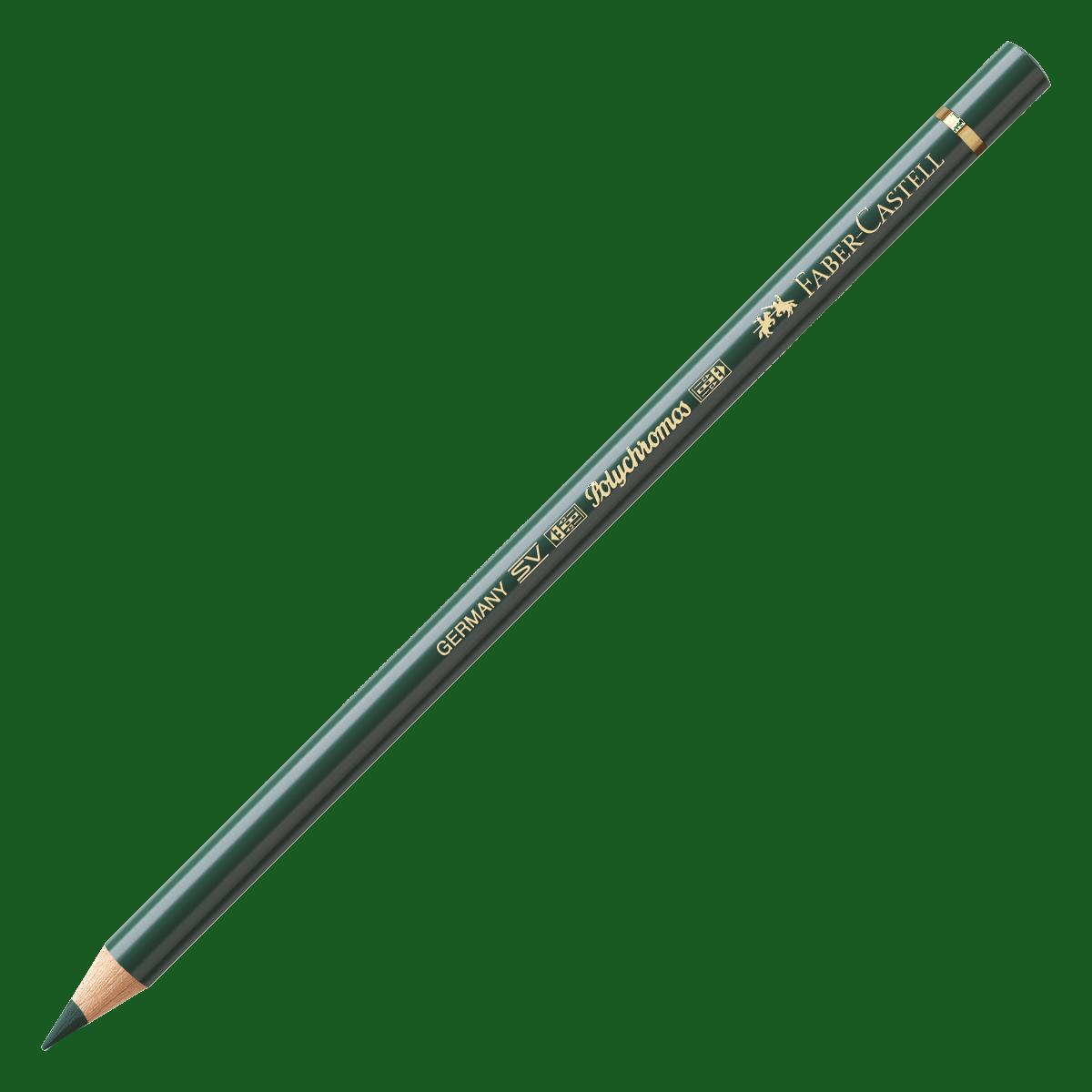 Kredka Polychromos 165 zieleń jałowcowa, Faber-Castell